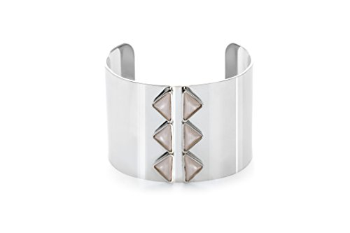- Shelly Brown Adjustable Silver Cuff Bracelet Authentic Swarovski Crystals: Gloria Cuff Bracelet