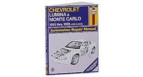 Haynes Repair Manual for 1995 - 2001 Chevy Impala