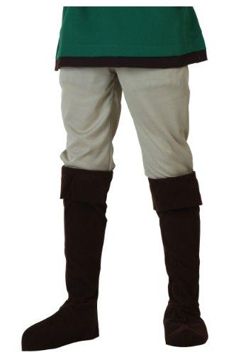 Child Tan Elf Warrior Zelda Costume Pants Medium -