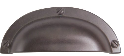 - Atlas Homewares A818-O 3-3/4-Inch Euro-Tech Collection Bin Cup Pull, Aged Bronze