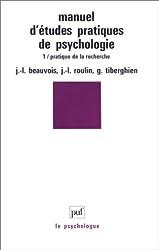 Manuel d'études pratiques de psychologie
