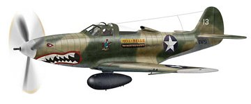 P-39 Airacobra Aircraft 1/48 Revell Monogram