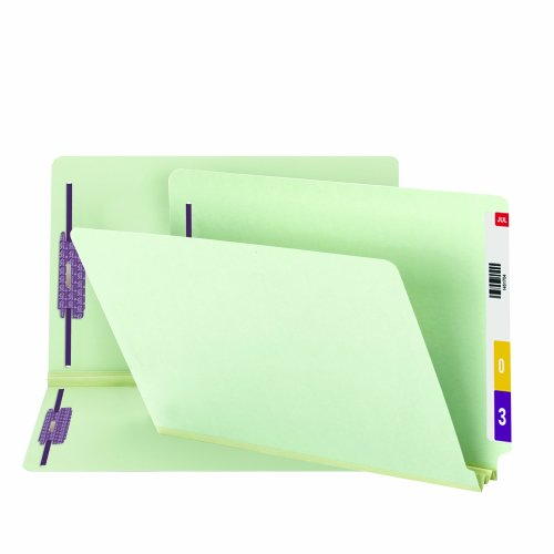 - Smead End Tab Pressboard Fastener File Folder with SafeSHIELD Fasteners, 2 Fasteners, 2