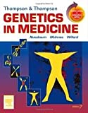 img - for Thompson & Thompson Genetics in Medicine: With STUDENT CONSULT Online Access 7th (seventh) edition book / textbook / text book