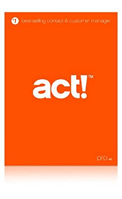 Act! Pro v16 (2014)- Includes 1 hour ACT! 101 training webinar held weekly