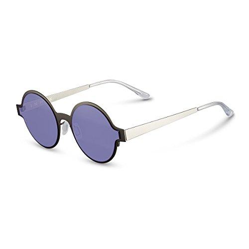 Diseño con Niñas Pink Redonda Montura De Ropa De De Accesorios Gafas Polarizadas Sol Z Lavender Mujer Redondas De Gafas Premium para Gafas amp;HA para Pequeñas Metal Tvw7qxg