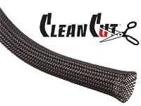 Techflex 1/2 Clean Cut Sleeving 25 feet Black