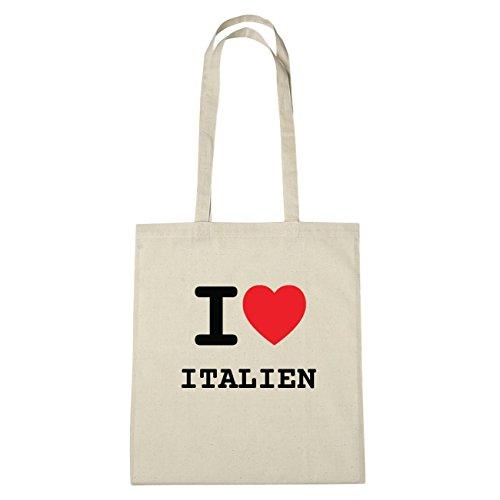 Hände I Sac Love B4711 Natur En Italie Coton Ich Herz Liebe Jollify x8qCpYwC