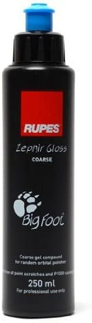 Rupes Zephir Gloss Coarse Polishing Compound Gel 250 Ml By Zephir Gloss Auto