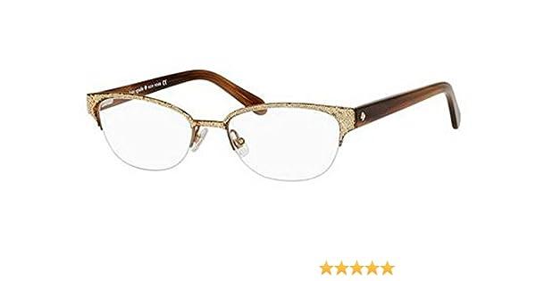 83149af3f4e7 Amazon.com  Kate Spade Shayla Eyeglasses-0W48 Glitter Striated Brown -51mm   Shoes