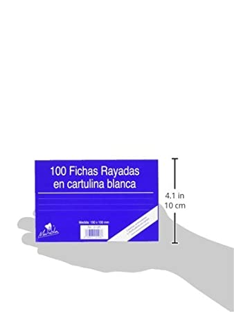 Amazon.com : Mariola 3113r - Package of 100 Chips Rayadas, 150 x 100 mm : Office Products