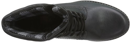 FRETZ men Cooper - botas de caño bajo de cuero hombre negro - Schwarz (51 noir)