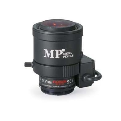 Fujinon YV2.1x2.8SR4A-2 3 Megapixel Day/Night Manual Iris Lens, 2.8-6mm