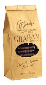 Asher Dark Chocolate Graham Crackers, 7.15 Ounce -- 12 per case. by Asher