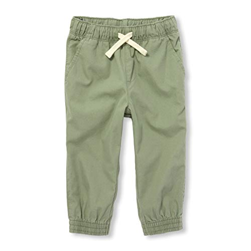Green Baby Jogger - The Children's Place Baby Boys Jogger Pants, Olive Press 6-9MONTHS
