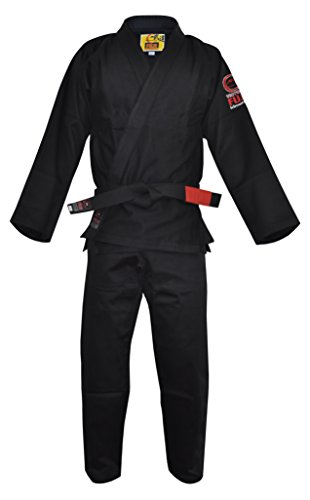 Fuji BJJ Uniform, Black, A3