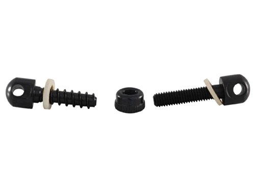 Ultimate Arms Gear Two QD 1'' Inch Slot Loop Detachable Screw and Nut Studs Swivels with Spacers + Two-Point Sling, Black AR15, AR-15, M4, M-4, M16, M-16 .223 5.56 556 .308 by Ultimate Arms Gear (Image #5)