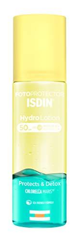 🥇 Fotoprotector ISDIN HydroLotion SPF 50 – Protector solar Corporal Bifásico