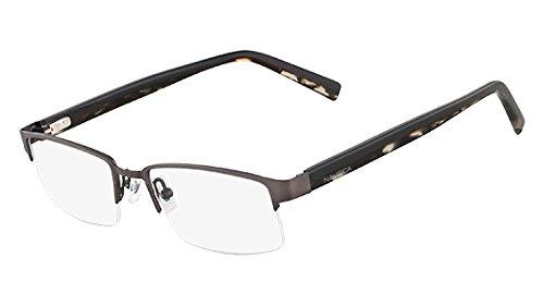 4f9b9315261 Nautica Eyeglasses N7229 033 Brushed Gunmetal 53 18 140 at Amazon ...