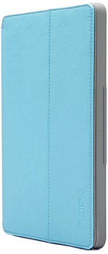 Incipio Standing Folio Case for Amazon Fire HD 7 (only fits 4th Generation Fire HD 7), Cyan