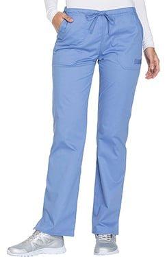 Cherokee Workwear Core Stretch WW130 Women's Drawstring Cargo Scrub Pant