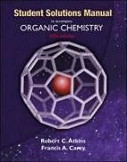 Amazon organic chemistry 6th edition 9780072828375 francis solutions manual to accompany organic chemistry fandeluxe Gallery