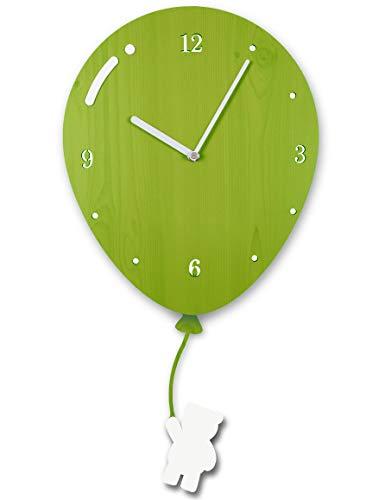 Clockwise Clocks Kids Wall
