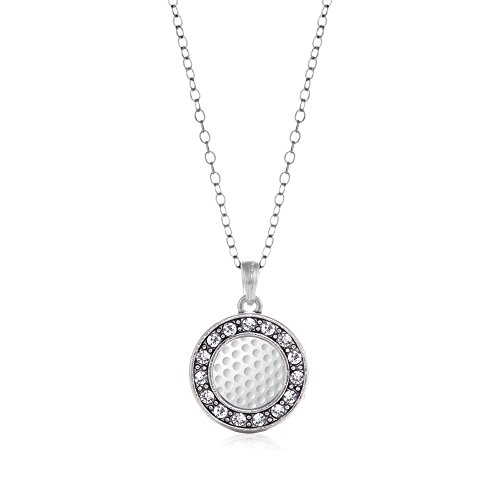 Inspired Silver Necklace Crystal Rhinestones product image