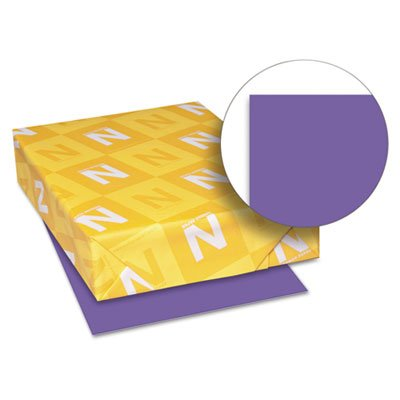Astrobrights Colored Paper, 24lb, 8-1/2 x 11, Gravity Grape, 500 Sheets/Ream, Sold as 1 Ream, 500 per Ream