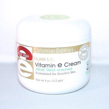 Vitamin E & Aloe Cream 10,000 IU 4 Ounce