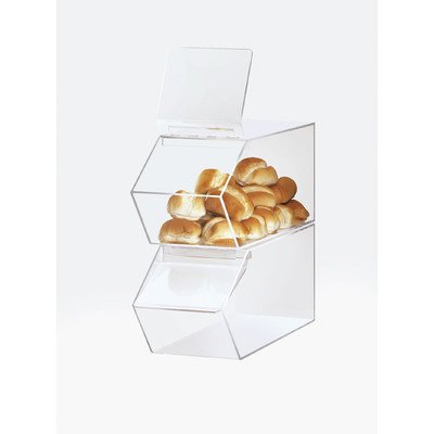Cal-Mil 992 Classic Stackable Acrylic Food Bin, 19.5