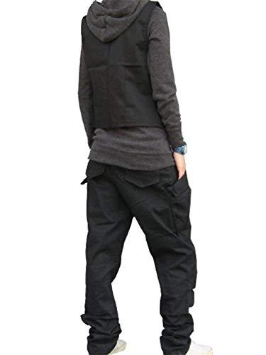 Jogging A Sportivi Vita Chino Fashion Da Bassa Pantaloni Nero Laisla Uomo Harem Ragazzi Jeans Classiche 0qtwZqU