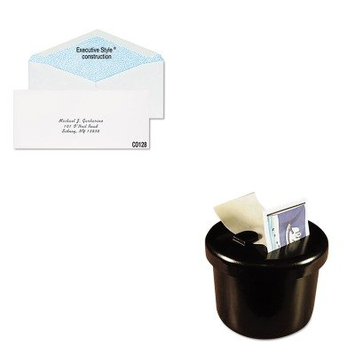 KITLEE40100QUACO128 - Value Kit - Columbian Gummed Seal Security Tint Business Envelope (QUACO128) and Lee Ultimate Stamp Dispenser (LEE40100) by Columbian Envelopes