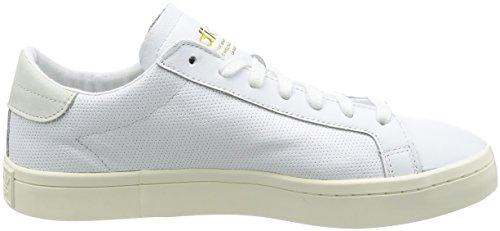 adidas Herren Courtvantage Sneakers Weiß (Footwear White/footwear White/footwear White)