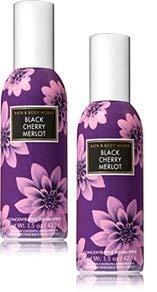 - Bath and Body Works 2 Pack Black Cherry Merlot Room Spray 1.5 Oz.