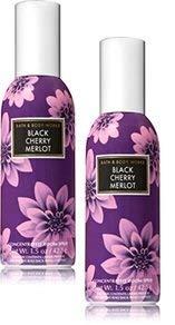 (Bath and Body Works 2 Pack Black Cherry Merlot Room Spray 1.5)