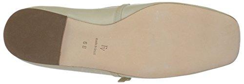 Frances Valentine Womens Jude Ballet Flat Oyster