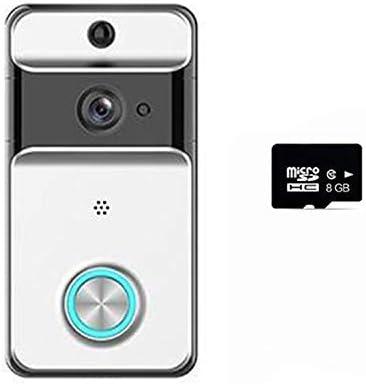 M5 Wifiドアベル、ビデオインターホンIP53 IPホームアパートメントセキュリティカメラ用防雨暗視電話警報モニタードアベル