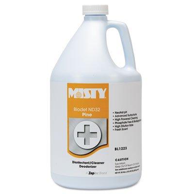 Misty Biodet nd-32、パイン、1ガロンボトル、4 /カートン B00PUSY3IM