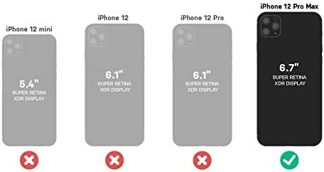 OtterBox Performance Glass Series Screen Protector for iPhone 12 Pro Max - Clear