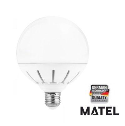 MATEL M291672 - Bombilla led e27 Globo g120 18w - 1800 lumenes: Amazon.es: Hogar