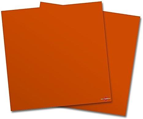Amazon Com Wraptorskinz Vinyl Craft Cutter Designer 12x12 Sheets Solids Collection Burnt Orange 2 Pack Arts Crafts Sewing