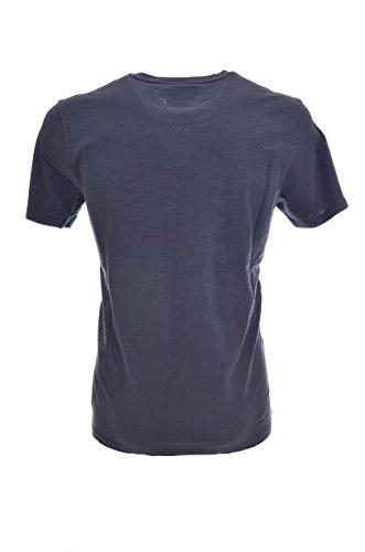 Blu rich Wytee0418 Manica By Casco T shirt Stampa Avio Penn Regular Mezza Woolrich Uomo U7wq7dF