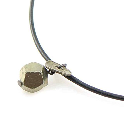 Zen Series: Pyrite And Qing Coin Necklace - European Imports Necklace