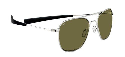 - Serengeti Classics Sortie Sunglasses, 555nm, Shiny Silver