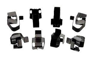 Carlson Quality Brake Parts P1084 Brake Pad Installation Kit CRLP1084