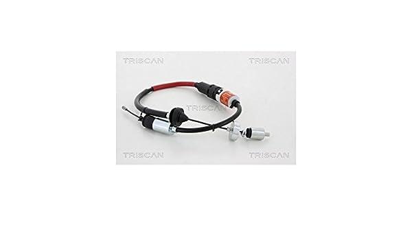 Triscan 8140 25260 Cable de accionamiento, accionamiento del embrague: Amazon.es: Coche y moto