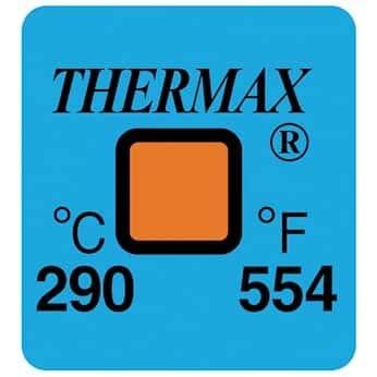 Digi-Sense Irreversible 1 Point Temperature Label 290/°C//554/°F; 50//Pk
