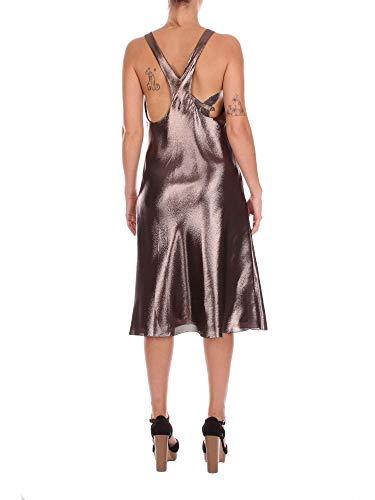 Alberta A54060129088 Seta Bronzo Vestito Donna Ferretti qCnrqa4