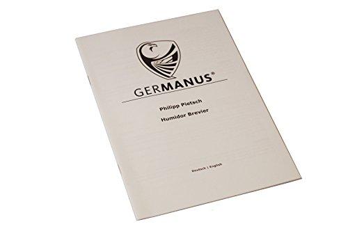 """GERMANUS """"Viadrus Humidor Armadio de Marque con Digital igrometro Cristallo Umidificatore per i Sigari 5 spesavip"""